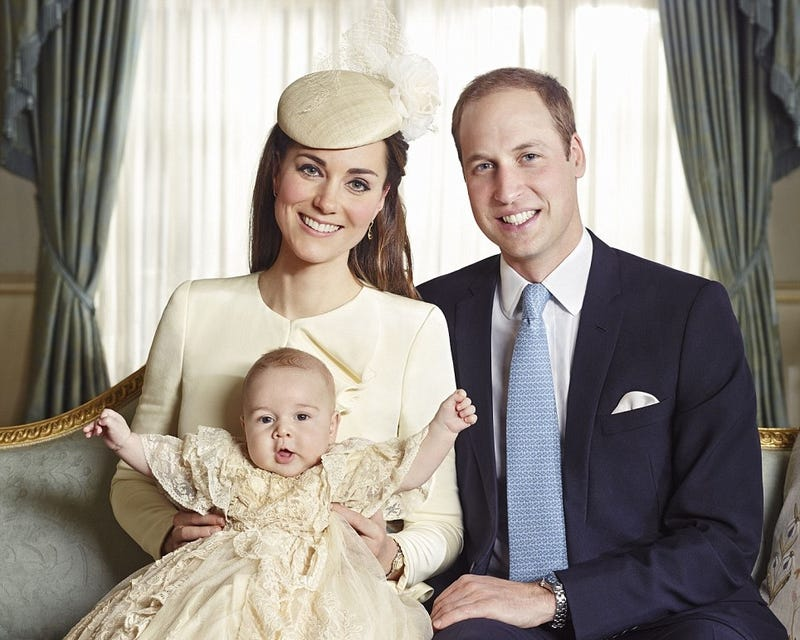 Royal Baby Wears A Dress, Is 2 Blessed 2 Be Stressed in New Portraits