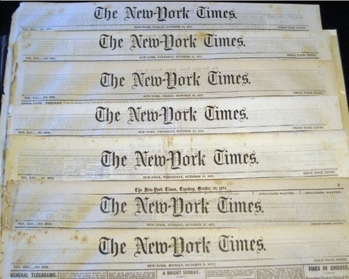 Hobo New York Times Turns Profit, Technically!