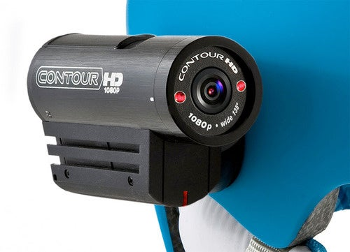 VholdR ContourHD Helmet Cam Shoots Superwide 1080p Video, With Lasers