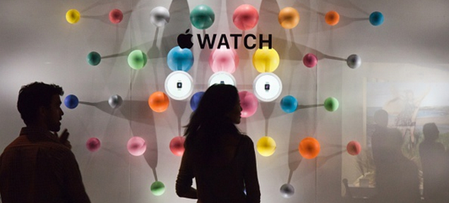The Apple Watch Is on Show at Paris Fashion Week