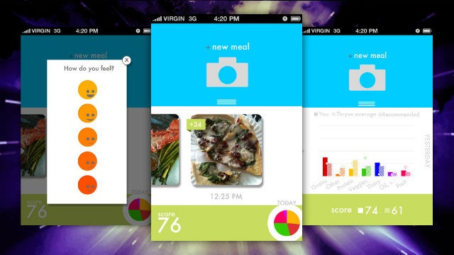 Thryve Offers a New, Visual Take on Tracking Your Meals