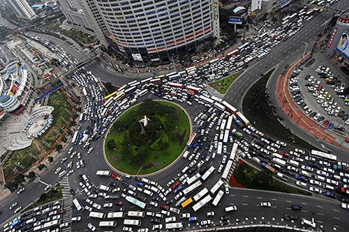 The World's 18 Worst Intersections And Interchanges