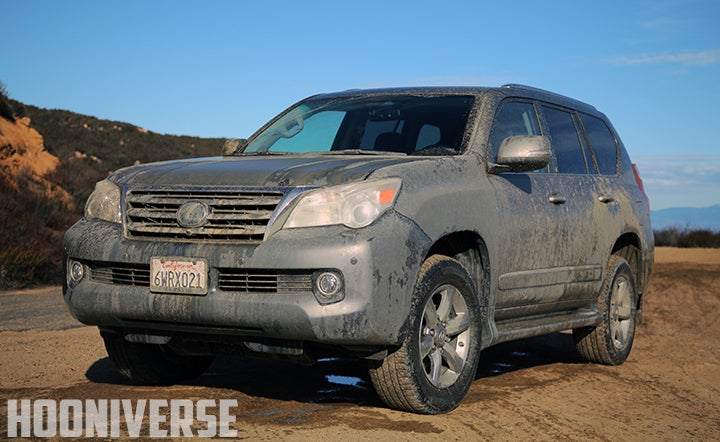 Getting a 2013 Lexus GX 460 absolutely filthy...