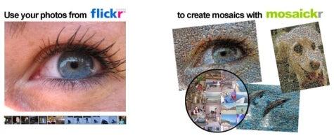 Create photo mosaics with Mosaickr