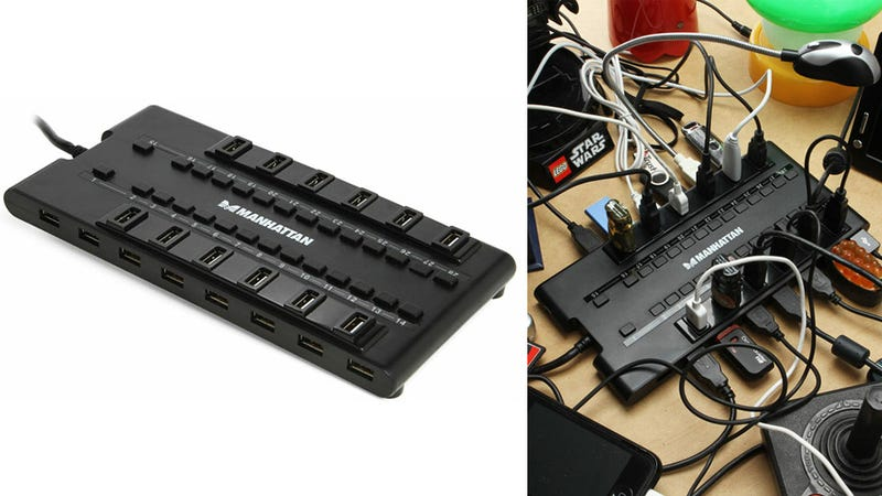 Sorry, This 28 Port USB Hub Still Doesn't Have Enough