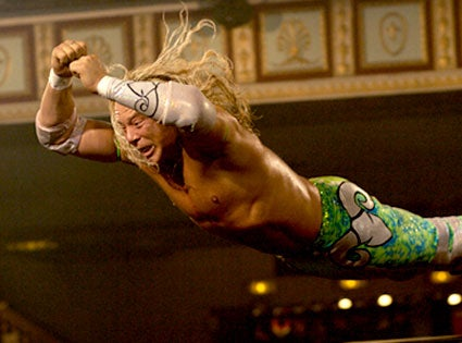 Did Mickey Rourke Juice Up For 'The Wrestler'?