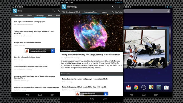News Is a Feature-Rich Google News Client for Android