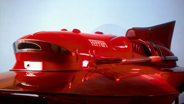 The most beautiful speedboat ever made still feels from the future