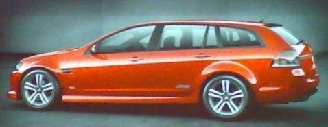 Holden Wagon Revealed?