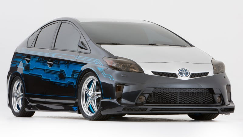 A NASCAR Driver's Attempt To Customize A Prius Results In This Disaster