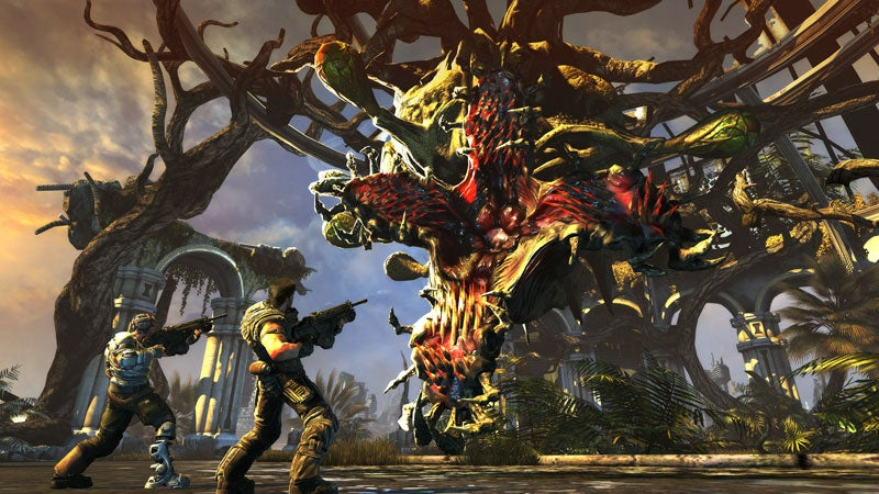 First Bulletstorm Screens Show Off Outrageously Large Guns, Plants