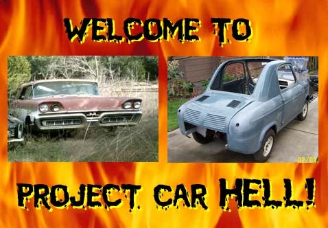 Project Car Hell, 1958 Edition: Mercury Commuter or Vespa 400?