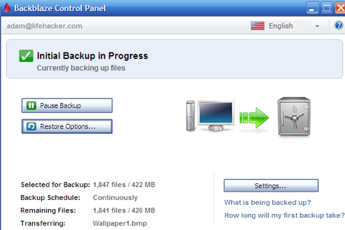 Backblaze Offers Hassle-Free Unlimited Online Backup