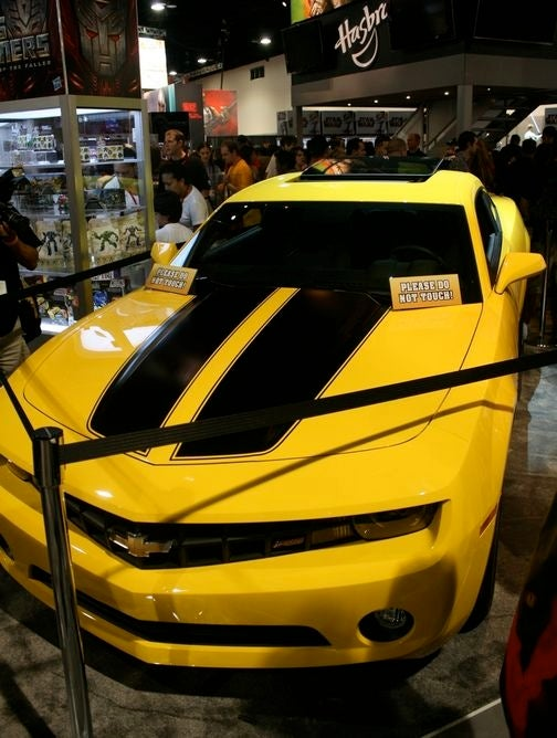 Chevy Camaro Transformers Edition: Live And In Living Robogasm