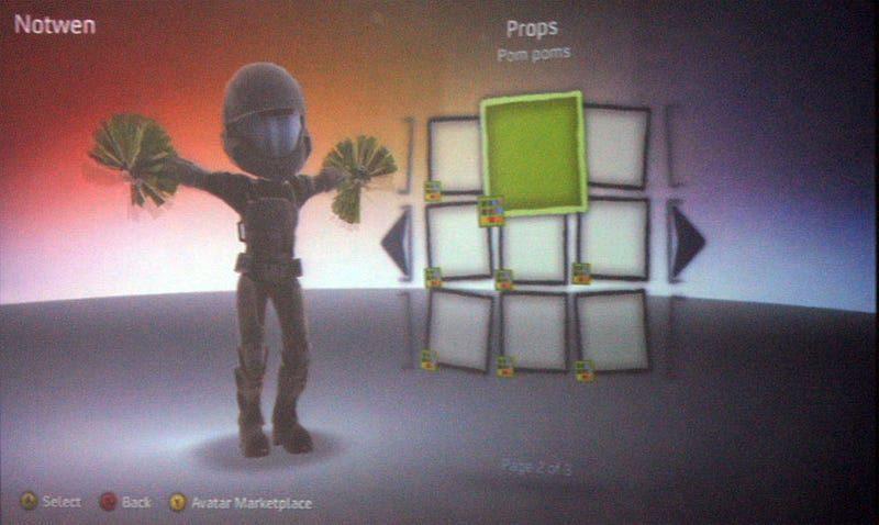 Xbox 360 Avatars Getting New Outfits, Props, Marketplace