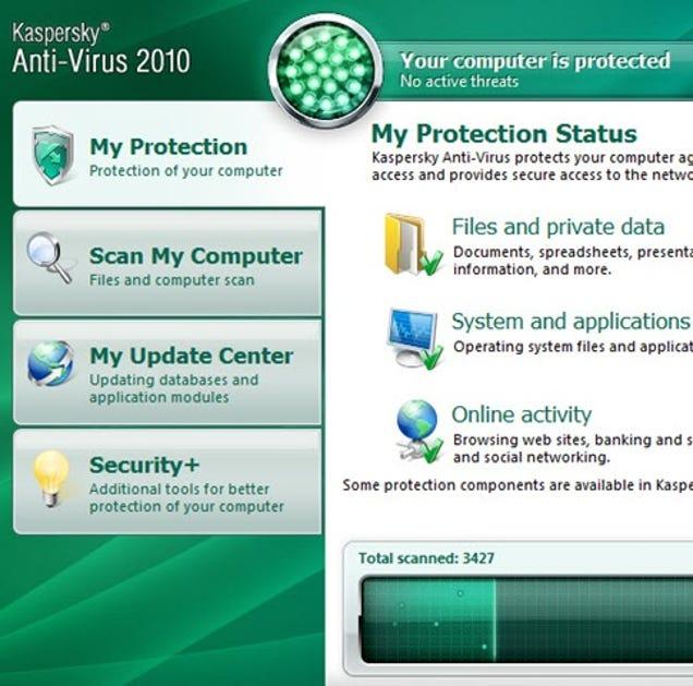 Kaspersky antivirus personal 50