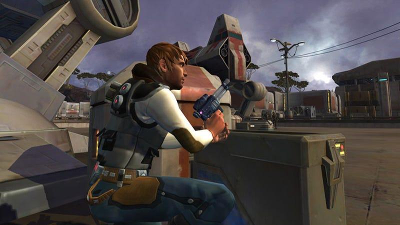 BioWare Officially Unveils Old Republic Smuggler Class