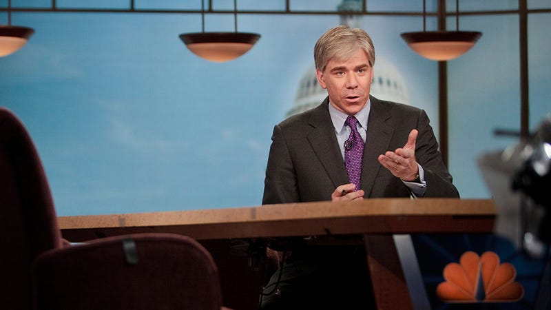 Something Weird Is Going on With David Gregory and Meet the Press