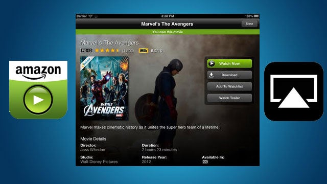 Amazon Instant Video for iOS Updates with AirPlay Streaming, IMDb Info