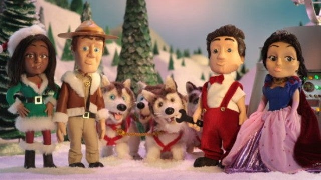 Check out the best moments from Eureka's amazing animated Christmas special!