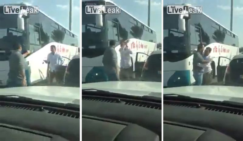 Israeli Road Rage Ends Surprisingly Well