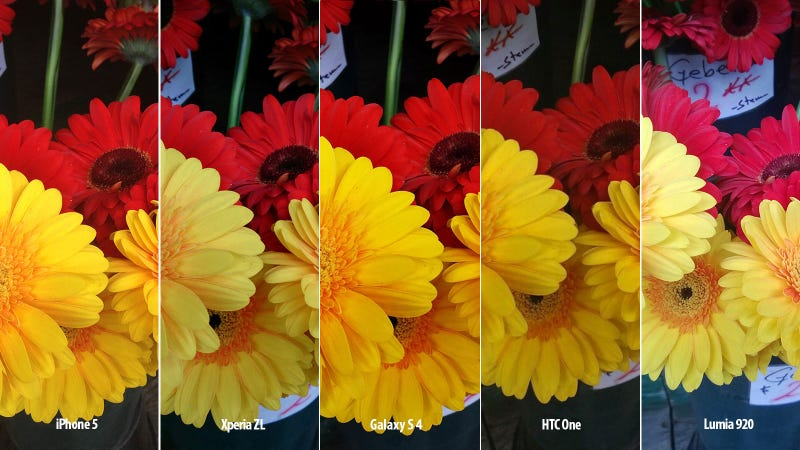 Samsung's Galaxy S4 Camera Versus the Competition