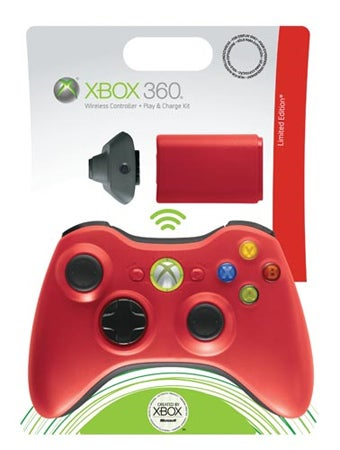 Europe Gets Red 360 Controller In Time For Resident Evil 5