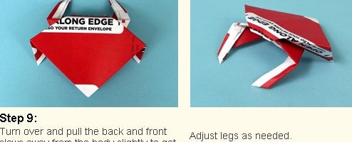 Netflix Origami Finds Fun Use for DVD Wrappers