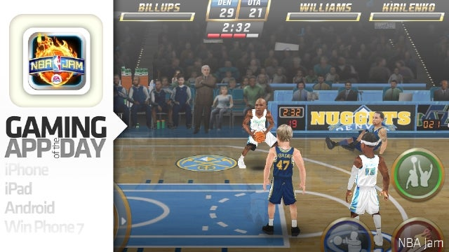Small Screen NBA Jam is a Ported Trail Blazer