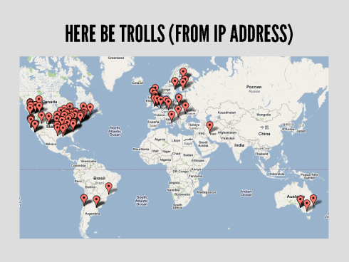 A Graphical Analysis Of Lady-Hating Online Trolls