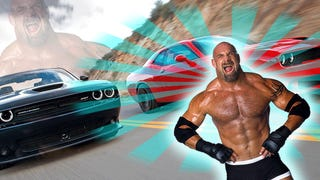 Driving The Dodge Challenger SRT Hellcat With Bill Goldberg, Live