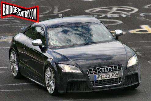 Audi TT-RS Spotted Lapping The Ring, But What's Going On Underneath?