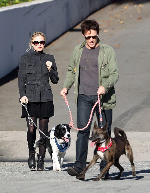 Anna Paquin & Stephen Moyer's Dog Day Afternoon