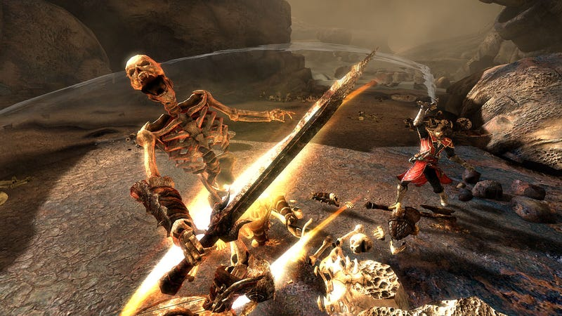 New Castlevania: Lords of Shadow Screens Start With Creeping Coffins