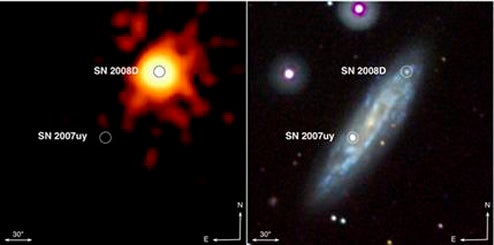 Stars Gone Wild!: Supernova Caught on Tape