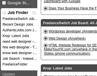 Build an Uber Job-Search Dashboard with iGoogle
