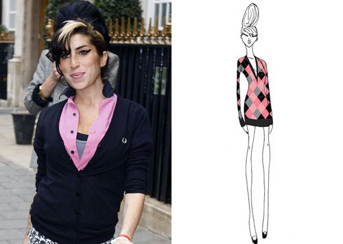 Amy Winehouse Now A Fashion Designer