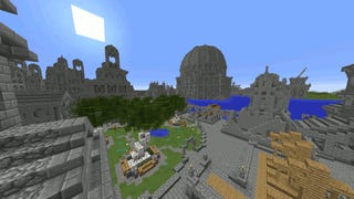 Explore Gondor's Ancient Capital from <i>Lord of the Rings</i> in <i>Minecraft</i>