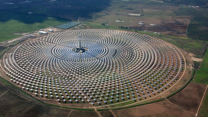 The World's First Solar Plant to Generate Electricity Even at Night