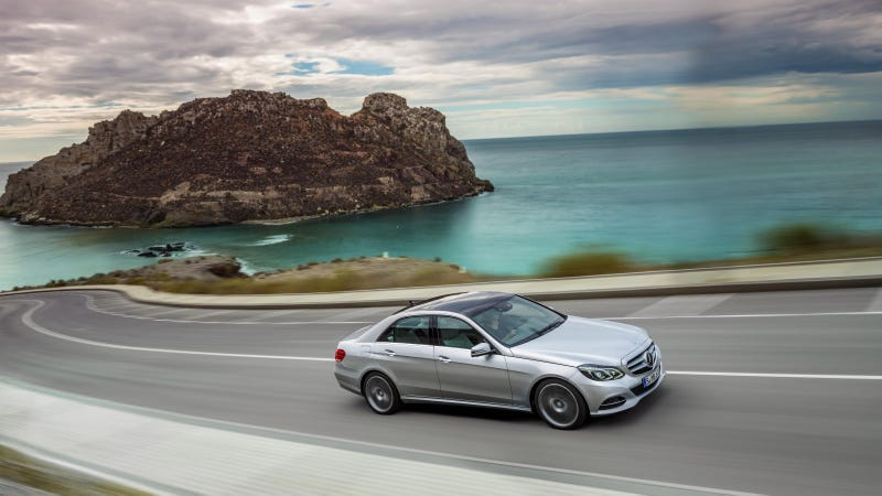 2014 Mercedes-Benz E-Class: It's Official, And It Comes With A Clock