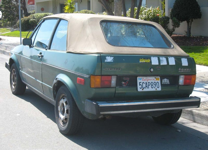 1982 Volkswagen Rabbit Cabriolet