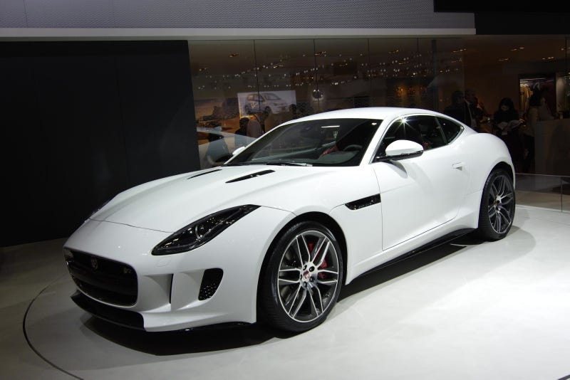 Even More Photos Of The Gloriously Sexy Jaguar F-Type Coupe