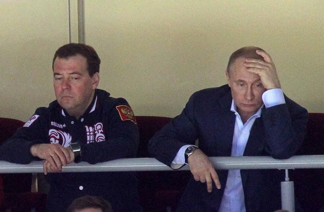 That Sad Vladimir Putin Photo Is Not From Today