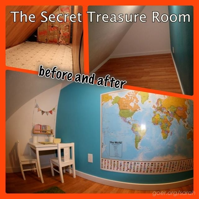 This Secret Treasure Room May Be The Best Birthday Present Of All Time