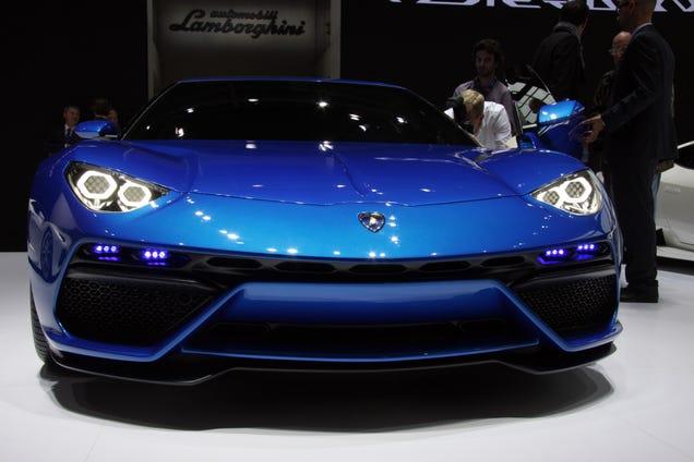 El nuevo Lamborghini Asterion es una bestia híbrida con 4 motores Gulkiufgxpfmnaxvj1oh
