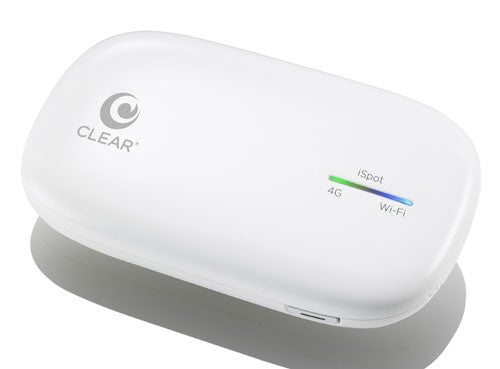 Clear's iSpot Is a WiMax Hotspot For iPhones and iPads