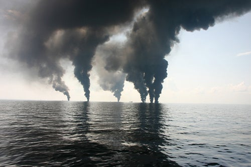 The Deepwater plumes are a feast for bacteria who eat natural gas
