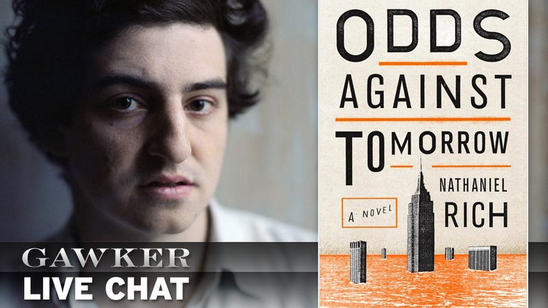A Discussion with Nathaniel Rich on His New Book Odds Against Tomorrow