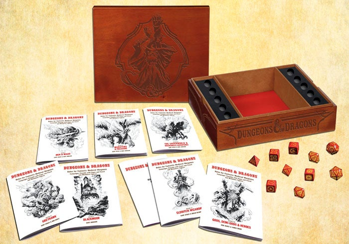 The original Dungeons & Dragons makes its triumphant return