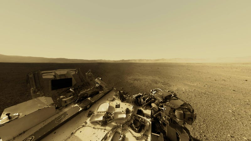 This interactive app is the best way to experience Curiosity's panoramic views of Mars